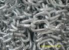 White Zinc Chain Medium Link Chain