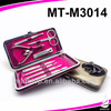 Stainless steel portable manicure sets
