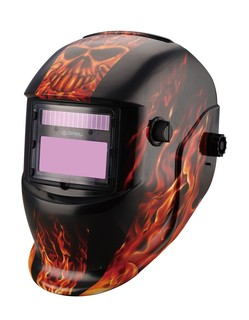 Face Protective Auto-Darkening Welding Mask with Solar Cell (MEGA-600S)