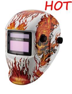 Auto Darkening Welding Helmet with Solar Cell (MEGA-500T)