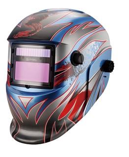 Solar Cell Auto-Darkening Welding Helmet with CE, ANSI (MEGA-400S)