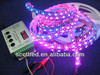 addressable ws2811 RGB LED Strip,64LED/m 5050 addressable rgb led strip
