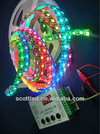 WS2812 digital led flexible strip with built-in IC WS2811 5050RGB LED