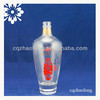500ml High Quality New Style Transparent Wine Glass bottle For Red Wine Brandy