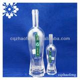550ml 200ml 150ml 375ml High Quality New Design Decal Baby Water Milk Beverage Glass bottle botellas de plastico