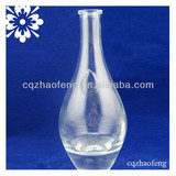 500ml 375ml Professional Manufacturer Clear Fashion High Quality Transparent Ice Wine Glass Bottle