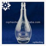 750ml 75cl Long Neck Transparent High Quality Wine Glass Bottle