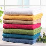 Pure cotton jacquard satin multi-color soft bath towel