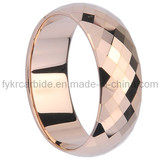 Faceted Tungsten Ring for Engagement