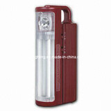 Rechargeable Emergency Light with 1-Piece Halogen Bulb and 2 X 6W Tubes (CGC-EL1072)