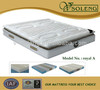 5 Zones pocket spring latex mattress with pillow top from manufacturer