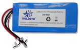 LiFePO4 Battery Pack LFP8870170-8s1p 24V 9ah for E-Bikes, E-Scooters