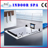 Wall-in Massage Bathtub with TV - DVD