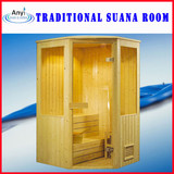 Finland Wood 3-4 Person Used Dry Sauna Room (AT-8602)