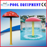 Water Play Equipment, FRP Red Water Mushroom (KF438-R)