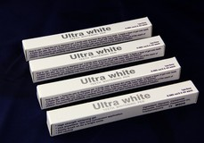 White Tooth Bleaching Pen, Plastic Dental Whitening Pen with Brush, Non Peroxide/HP/Cp Gel Filled Pen, CE Approval