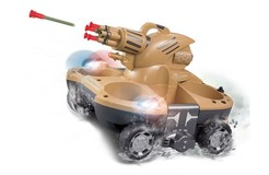 Amphibious R/C Tank with Shooting Function