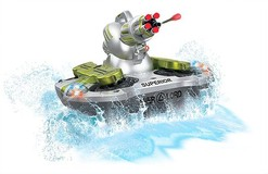 Amphibious RC Tank with Shooting Function