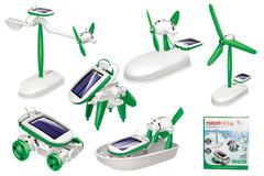 Amazing 6 in 1 Educational DIY Solar Kits Toys