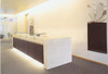 Reception Desk (White Color) 3000x1100x1200mm