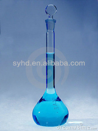 Volumetric flask clear
