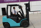 Diesel Forklift Truck 3.5ton with Nissan Engine (CPQD35F)