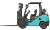 LPG/Gasoline Forklift Truck 3ton for Nissan Engine (CPQD30F)