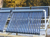Solar home heating system, solar water heater collector