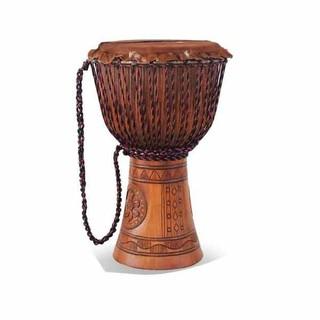 High Grade Engraved Dejembe Drum