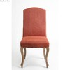 french style dining chair with rivet