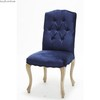 fabric dining chair french style