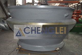 High Manganese Steel Cone Crusher Parts