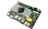 3.5 Inch IPC Motherboard Onboard Atom D525 CPU Integrated Dual LAN, Support LVDS, VGA