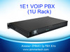 VoIP PBX with 1 E1 Port Te110p Asterisk Card Include