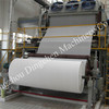 Jumbo roll toilet paper making machine
