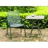 outdoor iron furniture mesh table&chair set