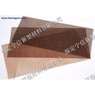 High silica fiberglass mesh filter