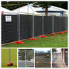 Temporary fence,temporary chain link fence,galvanized temporary fence,metal assembled fence