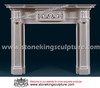 Hand Carved Marble Fireplace (SK-2397)