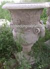 Marble Flower Pot, Stone Flower Pot, Stone Planter (SK-1204)