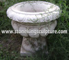 Carved Stone Vases & Marble Vases, Marble Flowerpots