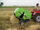 Mini Round Hay Baler Tractor Mounted