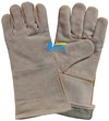 Cow Split Leather Safety Welding Work Gloves (BGCW201)