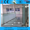4-12mm Tempered Frosted Glass with EN12150-1 & AS/NZS2208: 1996