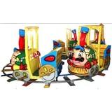 Amusement 8 kids park cartoon track train/Kiddy rides