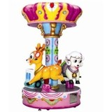 Amusement park lovely animal small carousel/kiddy rides