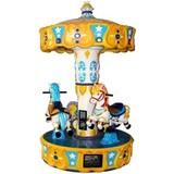 lovely cartoon small carousel/kiddy rides