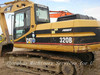 Used Hydraulic Crawler Caterpillar Excavator (CAT 320b)