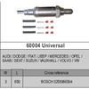 Universal Oxygen Sensor BOSCHBOSCH 0258986504