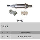 Oxygen Sensor Lambda SensorBOSCH 0258005257